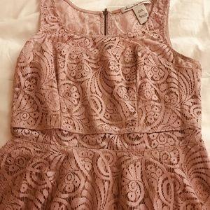 American Rag Dresses - Lavender lace baby doll dress